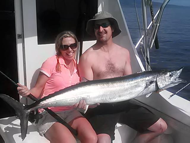 Fish caught sport fishing off maui hawaii for Maui sport fishing
